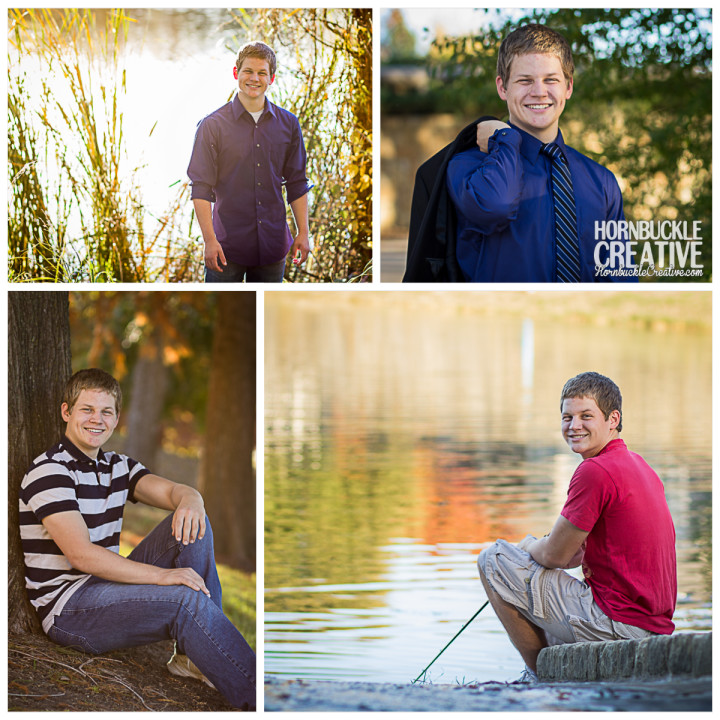 Evan - McKinney Senior Photographer Mandy Hornbuckle