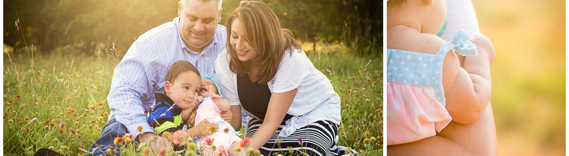 Campbell Family - Frisco, Texas Photographer Hornbuckle Creative