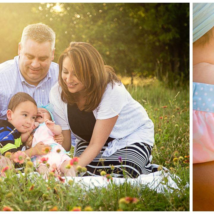 Campbell Family - Frisco, Texas Photographer Hornbuckle Creative
