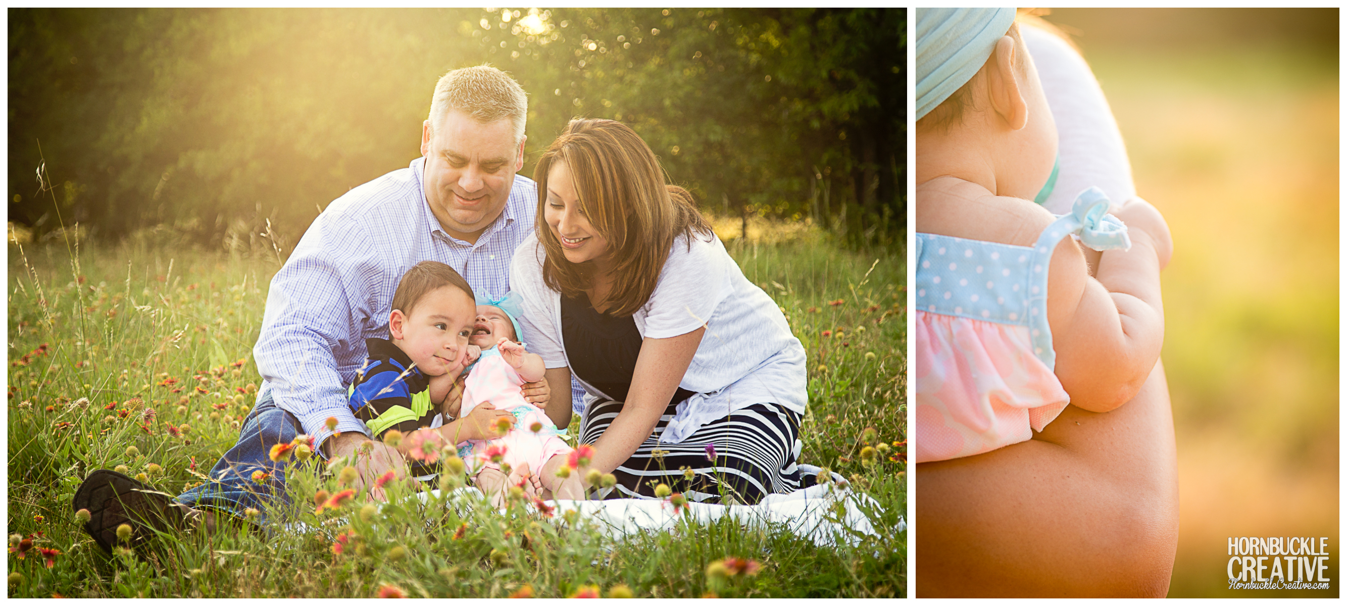 Campbell Family Portrait Photography by Hornbuckle Creative